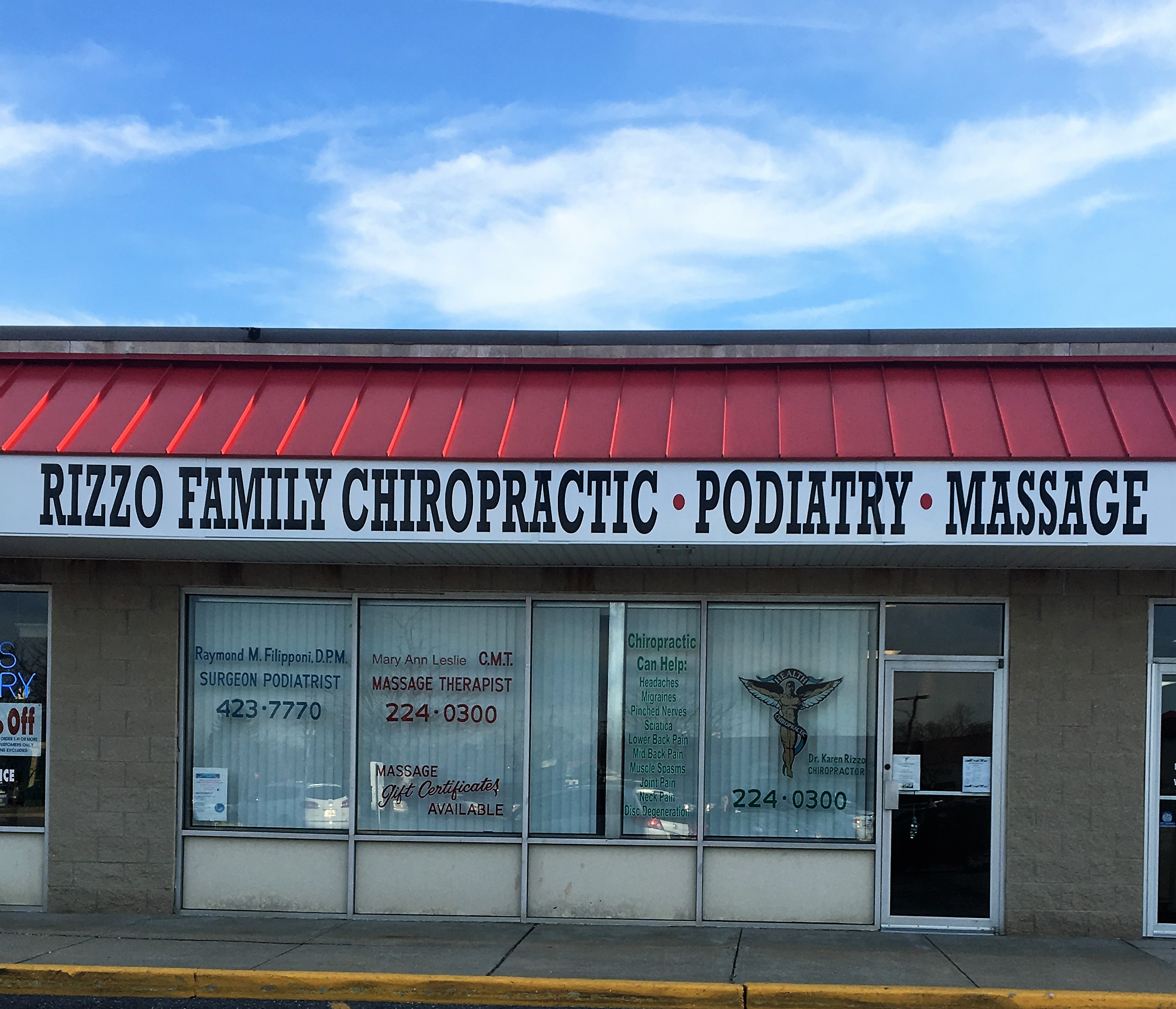 Rizzo Family Chiropractic Office